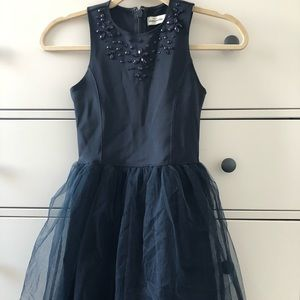 black abercrombie kids dress